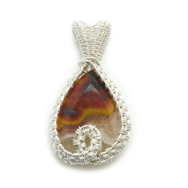 Faceted Agate Pendant-0