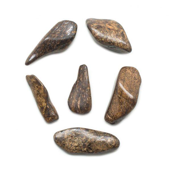 Bronzite Tumbled Stone Set (Extra Large)-145761