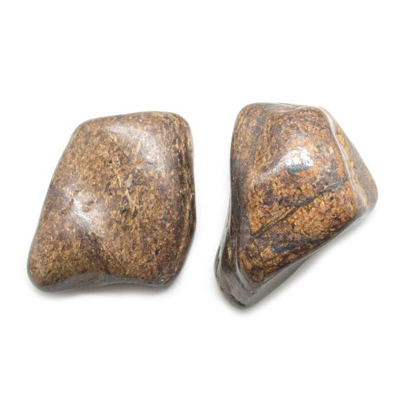 Bronzite Aura Stone Pair (Small)-145767