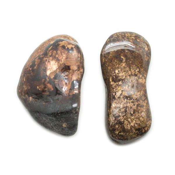 Bronzite Aura Stone Pair (Small)-145768