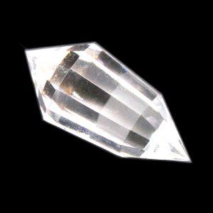 12 Sided Clear Quartz Vogel -0