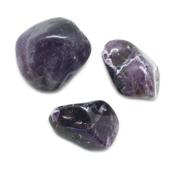 Cacoxenite Tumbled Set (Extra Large)-143878