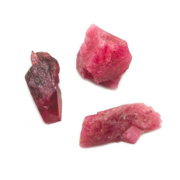 Rhodonite Rough Stone Set (Large)-145234