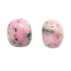 Pink Cobalt Calcite Tumbled Stone Pair (Large)-0