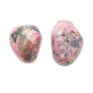 Pink Cobalt Calcite Tumbled Stone Pair (Extra Large)-0