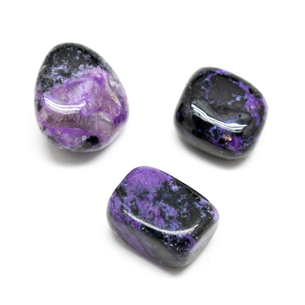 Charoite Tumbled Stone Set (Large)-0