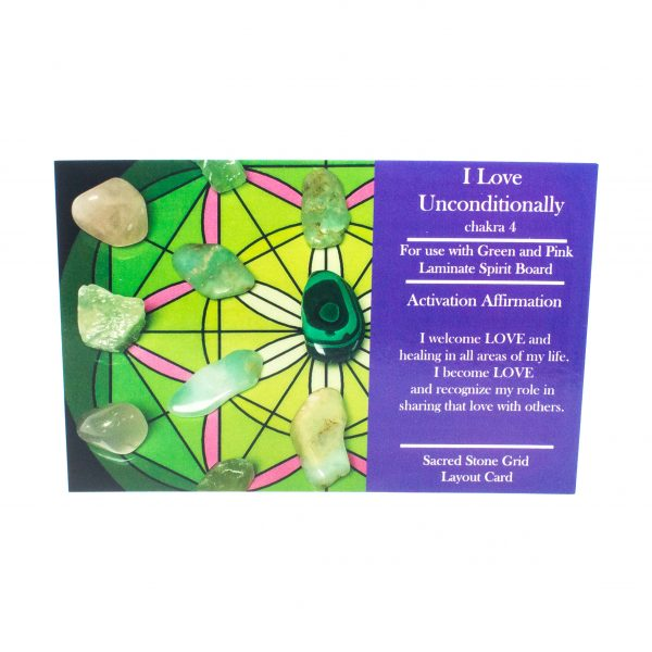 I Love Unconditionally Grid Layout Card-0