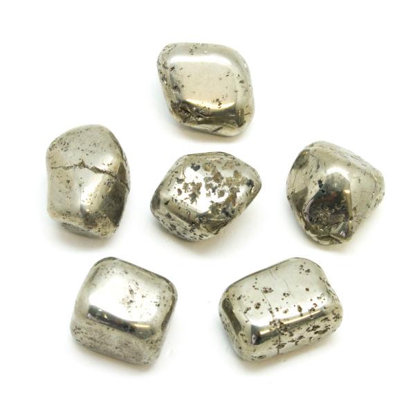 Rough Pyrite Tumbled Stone Set (Large)-147070