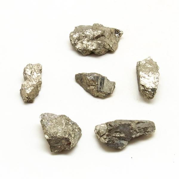 Rough Pyrite Tumbled Stone Set (Large)-206423