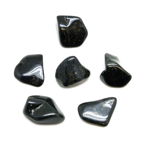 Black Jade Tumbled Stone Set (Medium)-147128