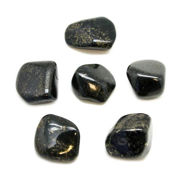 Black Jade Tumbled Stone Set (Large)-147136