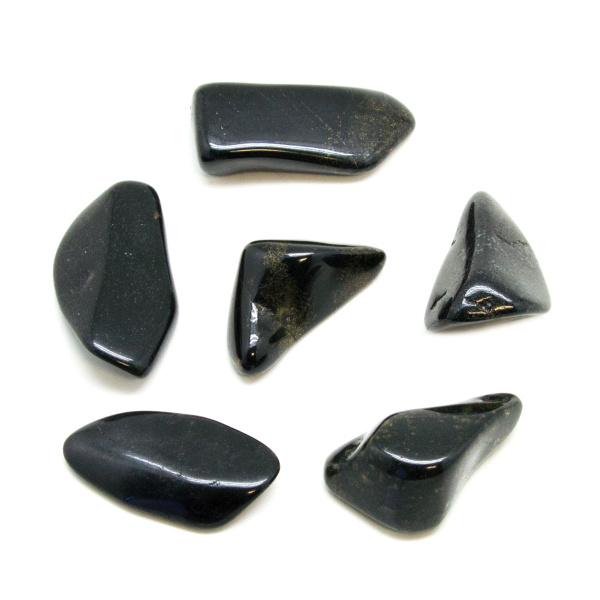 Black Jade Tumbled Stone Set (Extra Large)-0