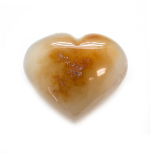 Carnelian Heart (Medium)-0
