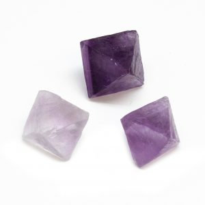 Fluorite Octahedron Set (Small)-0