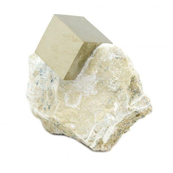 Pyrite Cube on Matrix-151173