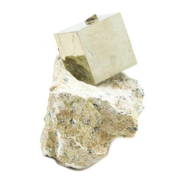 Pyrite Cube on Matrix-151198