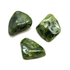 Vesuvianite Tumbled Stone Set (Extra Large)-0