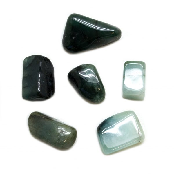 Jadeite Tumbled Stone Set (Medium)-148886