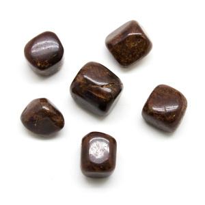 Hessonite Tumbled Stone Set (Large)-0