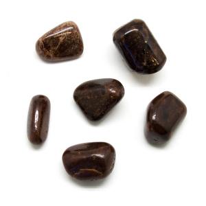 Hessonite Tumbled Stone Set (Extra Large)-0