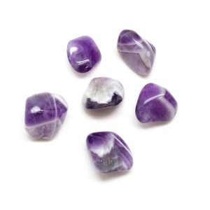 Banded Amethyst Tumbled Set(Medium)-0