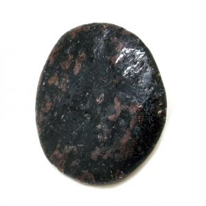 Garnet in Biotite Palm Stone (Medium)-0