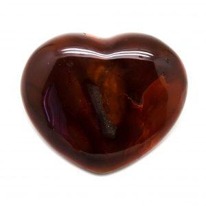 Carnelian Heart Lg-0