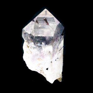 Brandberg Clear Quartz Harlequin Empathic Warrior Crystal-0