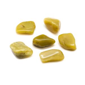 Olive Opal Tumbled Stone Set (Large)-0