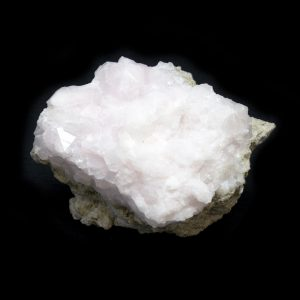 Fluorescent Pink Mangano Calcite Cluster-0