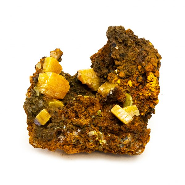 Wulfenite Cluster-0