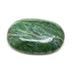 Nephrite Jade Palm Stone (Small) -0