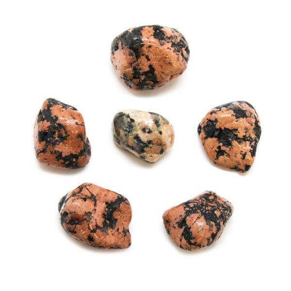 Luxullianite Tumbled Stone Set (Extra Large)-0