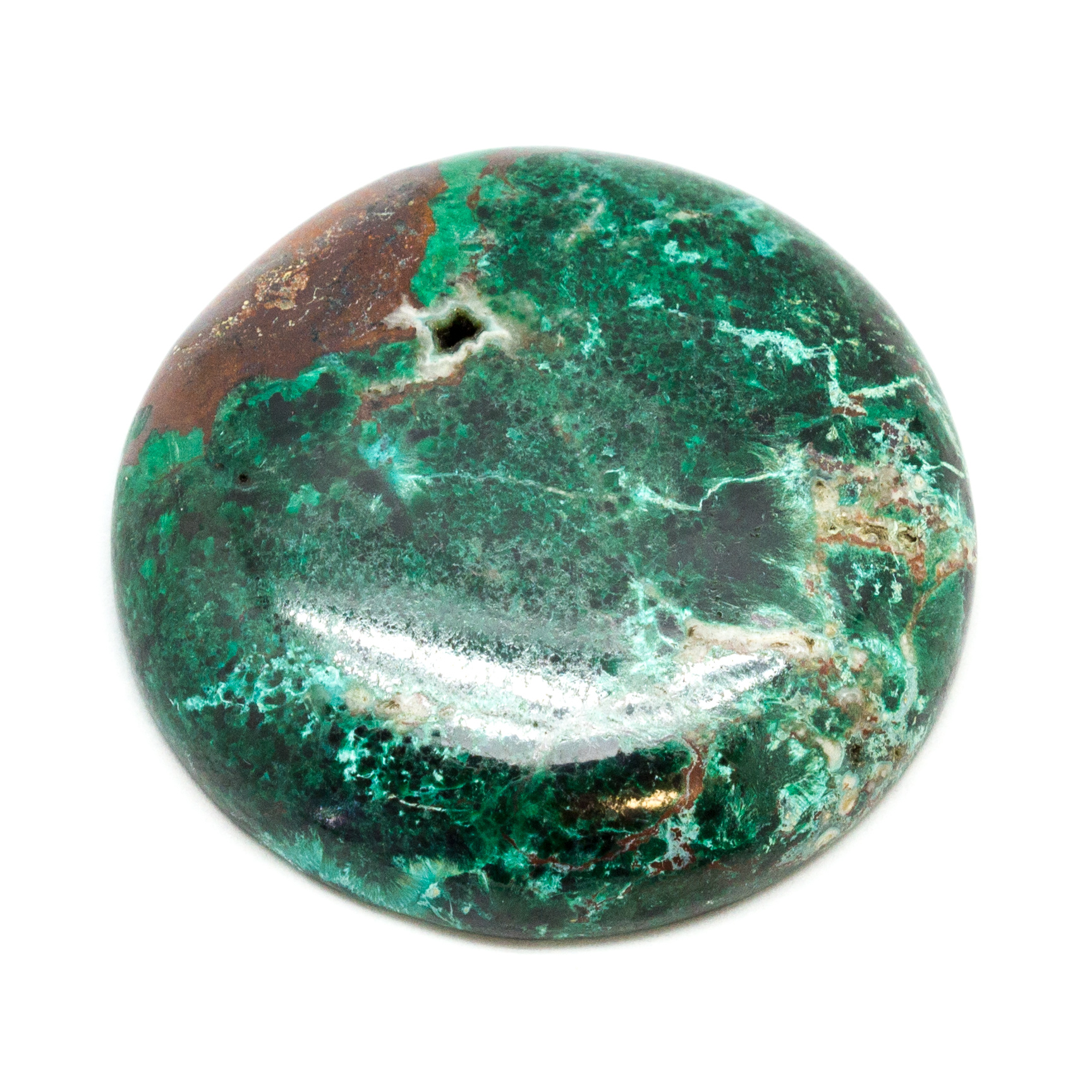 92 Ct Attractive Top Grade Quality 100/% Natural Chrysocolla Malachite Heart Shape Cabochon Loose Gemstone For Making Jewelry 38X37X7mm AK952