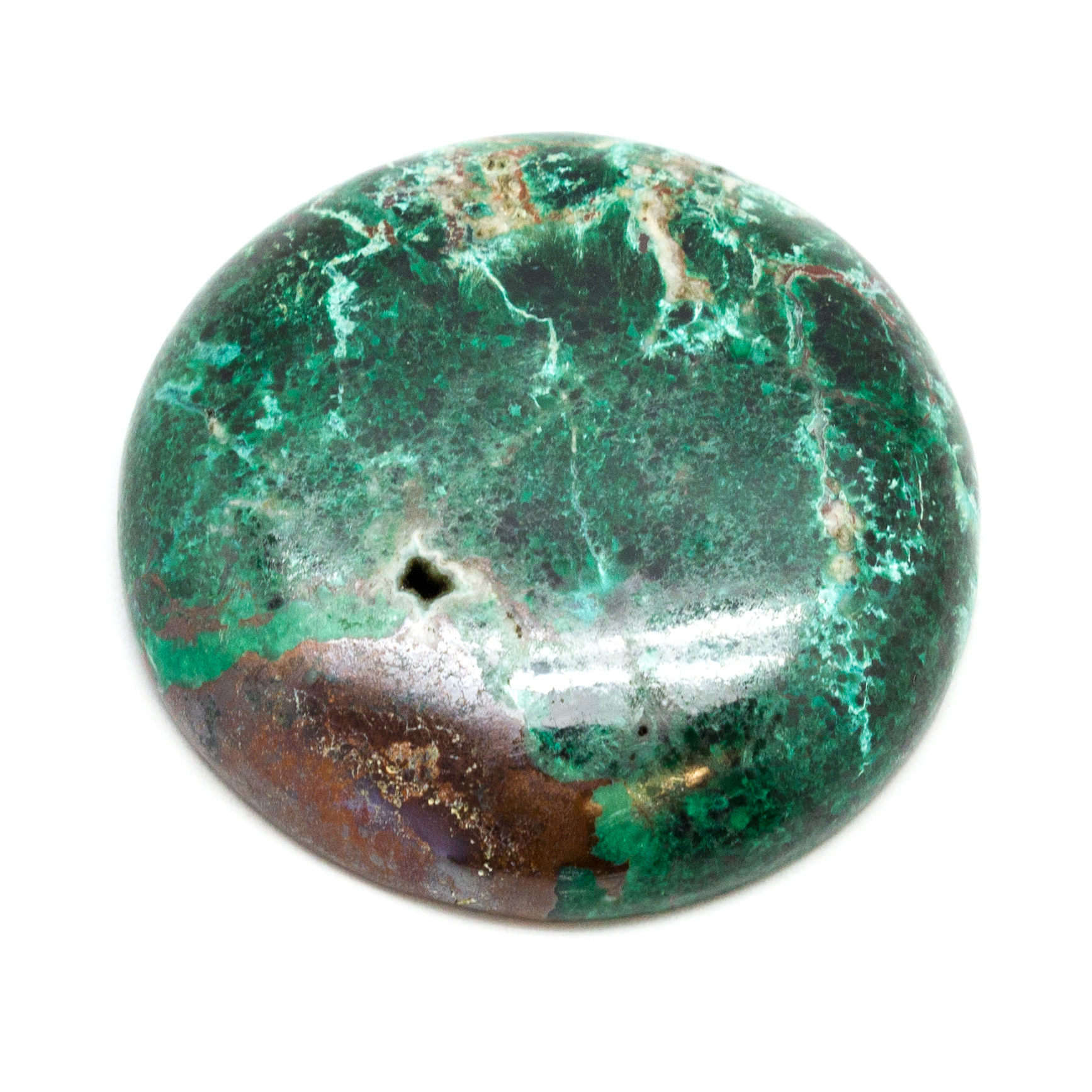 76.5 Ct Classic Top Grade Quality 100/% Natural Chrysocolla Malachite Oval Shape Cabochon Loose Gemstone For Making Jewelry 42X30X5mm AK-2018