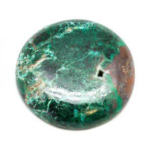 Polished Malachite and Chrysocolla Cabochon-178798