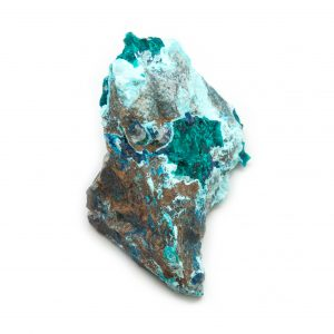 Dioptase Cluster with Shattuckite, Chrysocolla, and Malachite-179314