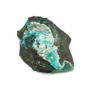 Malachite and Chrysocolla Cluster-0