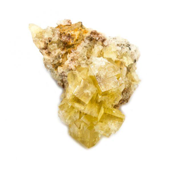 Yellow Fluorite Cluster-181183