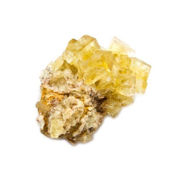 Yellow Fluorite Cluster-181184