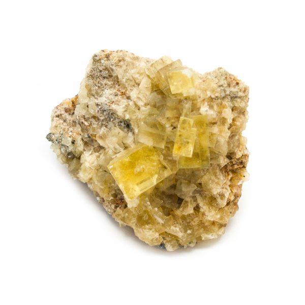 Yellow Fluorite Cluster-181238