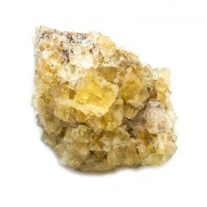 Yellow Fluorite Cluster-0