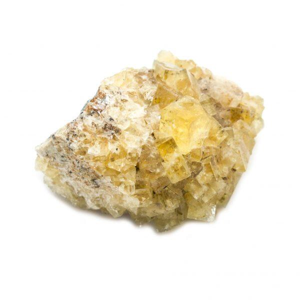 Yellow Fluorite Cluster-181262