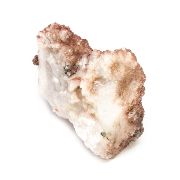 Red Hematite Quartz with Chalcopyrite Cluster-184092