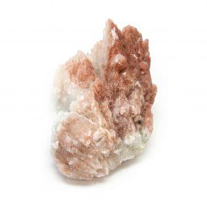 Red Hematite Quartz Cluster-0