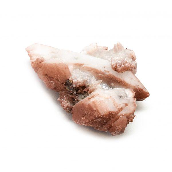Red Hematite Quartz with Chalcopyrite Cluster-184219