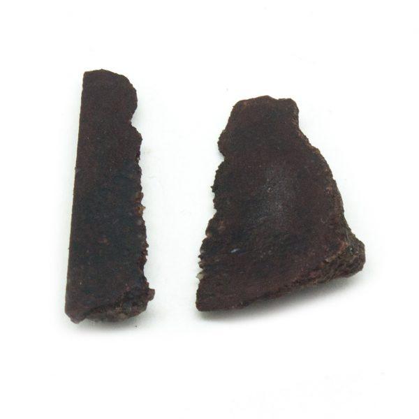 Rough Dino Bone Crystal Pair-0