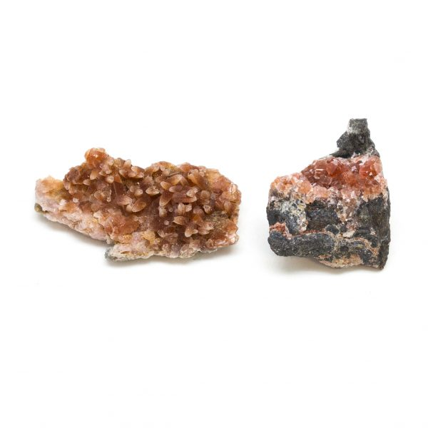 Rhodochrosite Cluster Pair-0