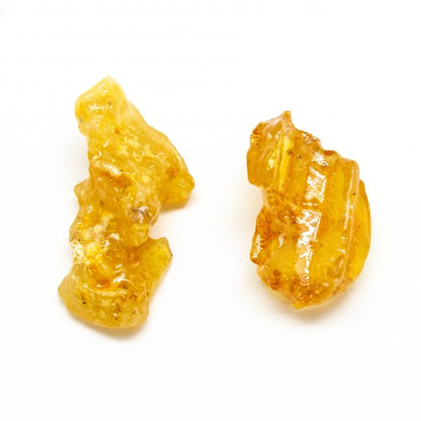 """""""Colombian Amber"""" Aura Stone Pair (Small)-0"""
