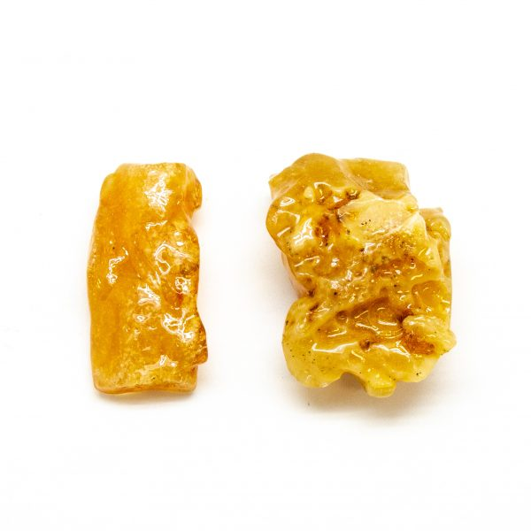"""""""Colombian Amber"""" Aura Stone Pair (Small)-183541"""